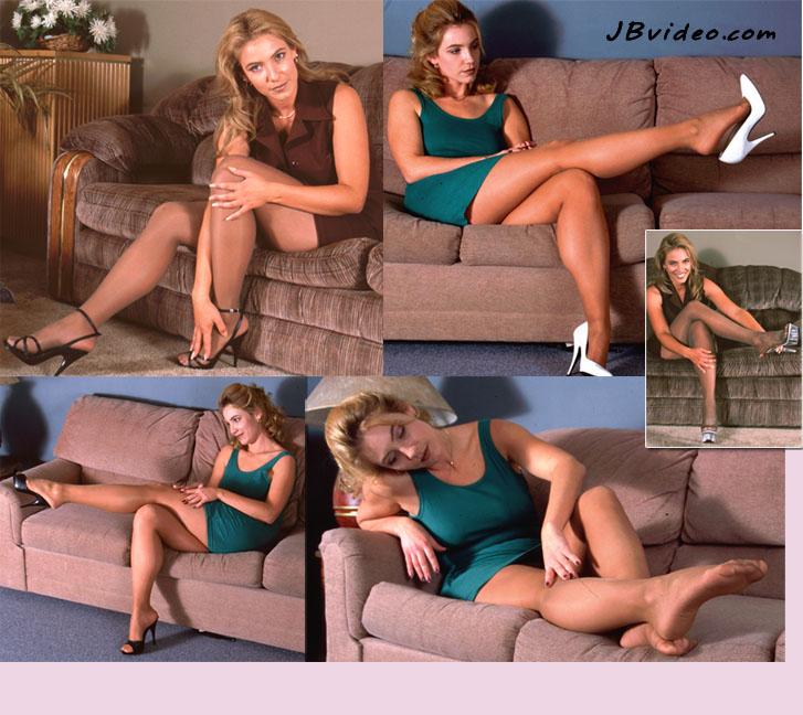 SUSAN'S FOOT TEASE 1 & 2 COMBO DVD