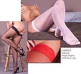 FISHNET THI HIGHS - LACE TOP