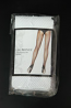 WHITE FISHNET BACKSEAM PANTYHOSE